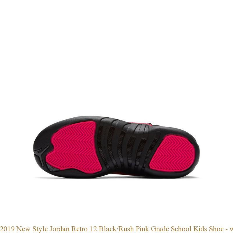 2019 New Style Jordan Retro 12 Black