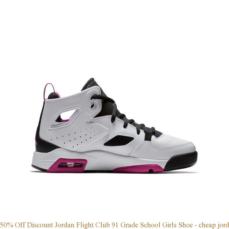 sale retailer 705e9 ac870 50% Off Discount Jordan Flight Club 91 Grade School Girls Shoe - cheap  jordans size 6 - S0137