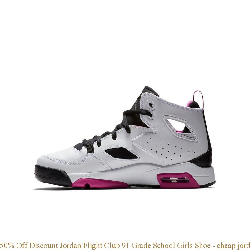 adfff52f61ddc0 50% Off Discount Jordan Flight Club 91 Grade School Girls Shoe ...