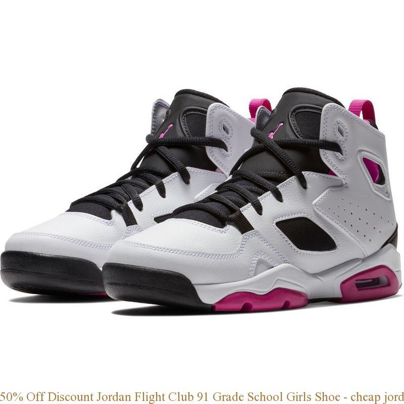 50% Off Discount Jordan Flight Club 91 Grade School Girls Shoe cheap jordans size 6 S0137
