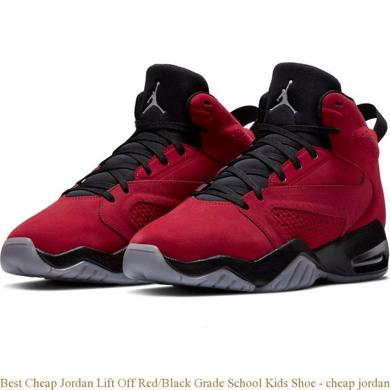 dfcfe0f24407b2 Best Cheap Jordan Lift Off Red Black Grade School Kids Shoe – cheap ...