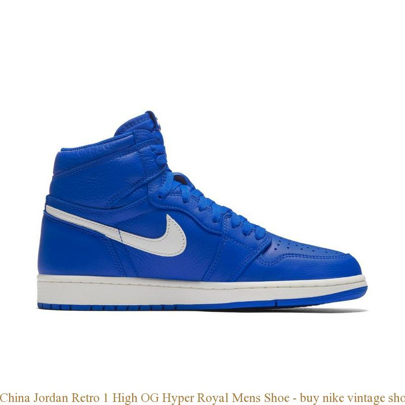 98fa2c28d8 China Jordan Retro 1 High OG Hyper Royal Mens Shoe – buy nike vintage shoes  ...