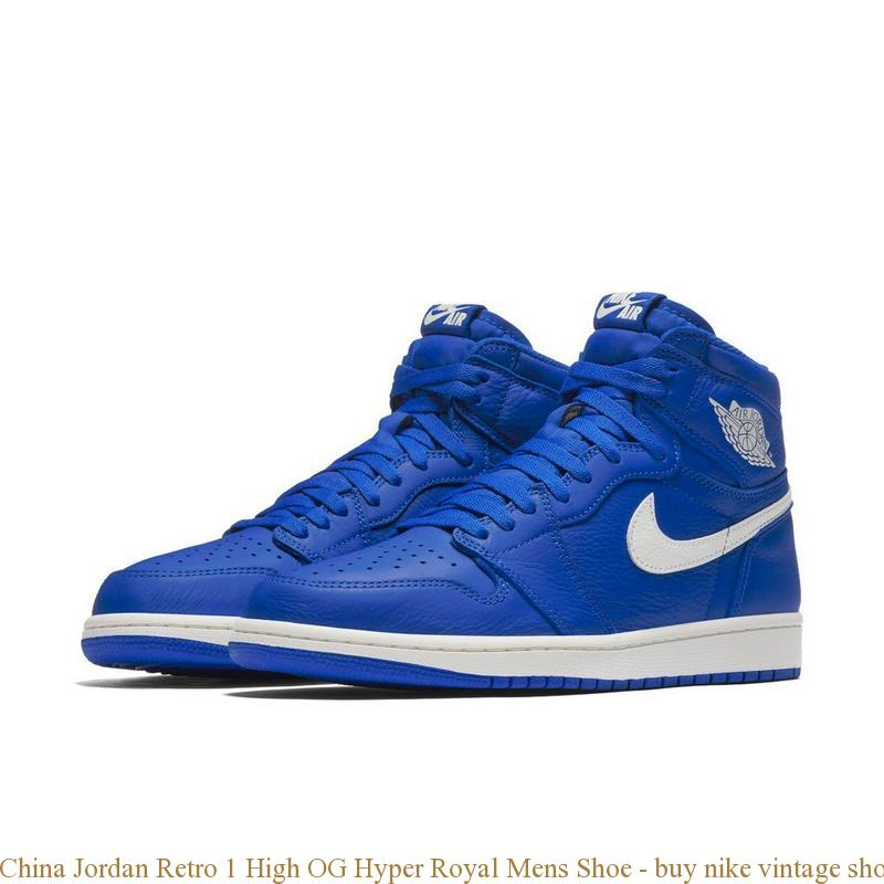 China Jordan Retro 1 High OG Hyper Royal Mens Shoe – buy nike ... 420f84fab