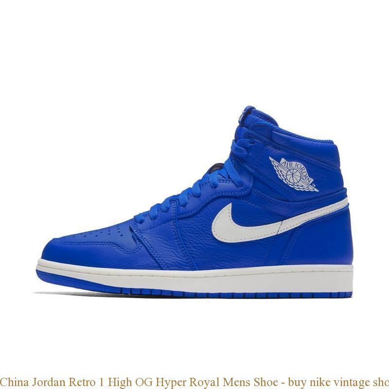 e73029e981ad2e China Jordan Retro 1 High OG Hyper Royal Mens Shoe – buy nike ...