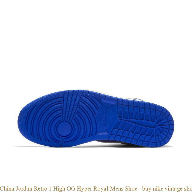 China Jordan Retro 1 High OG Hyper Royal Mens Shoe buy nike vintage shoes Q0182