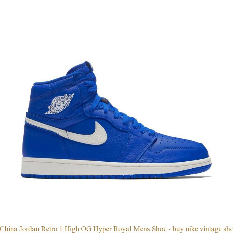 9649576e89 China Jordan Retro 1 High OG Hyper Royal Mens Shoe - buy nike vintage shoes  - Q0182