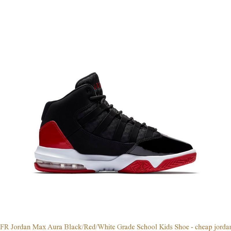 FR Jordan Max Aura Black/Red/White
