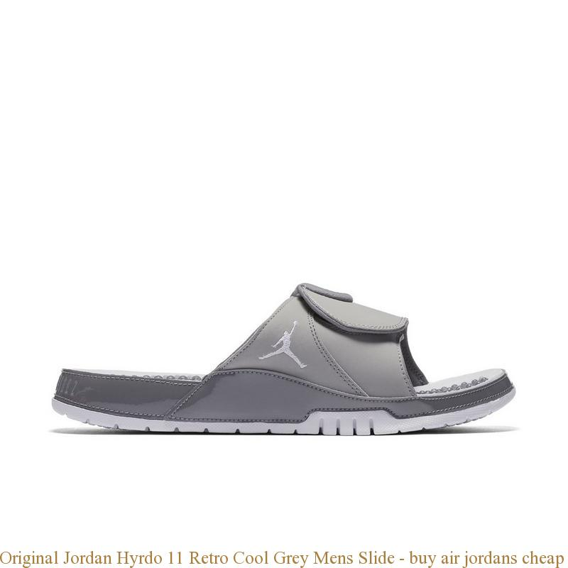 8422e0cde314 Original Jordan Hyrdo 11 Retro Cool Grey Mens Slide – buy air ...