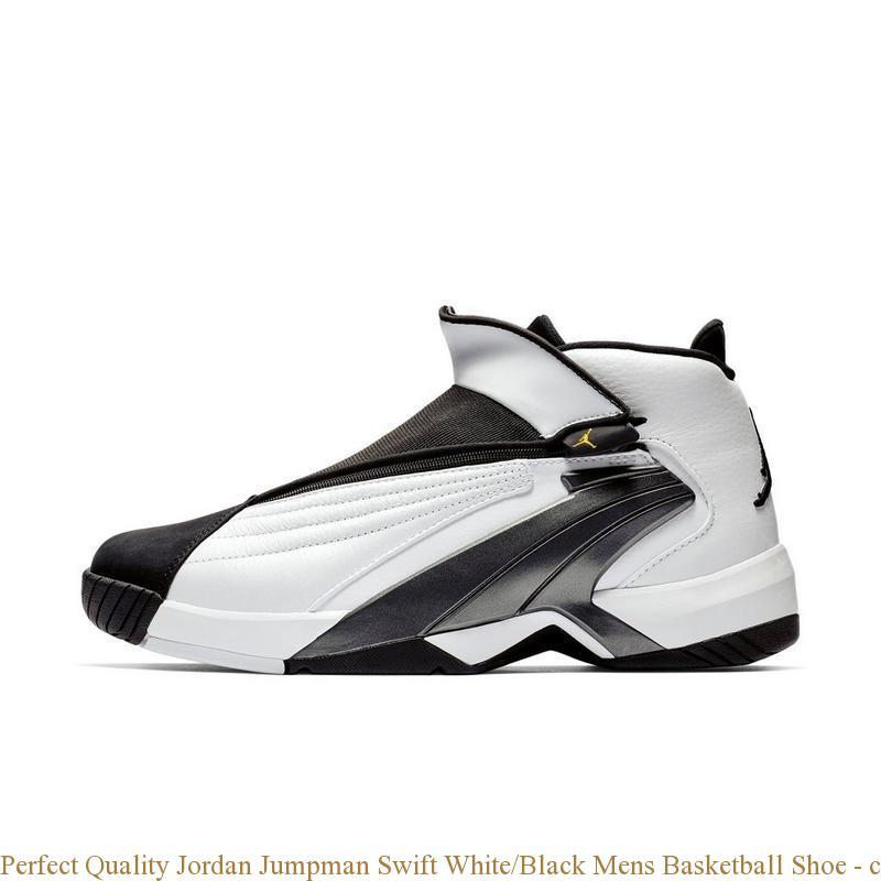 e08047cbc Perfect Quality Jordan Jumpman Swift White Black Mens Basketball Shoe –  cheap ...