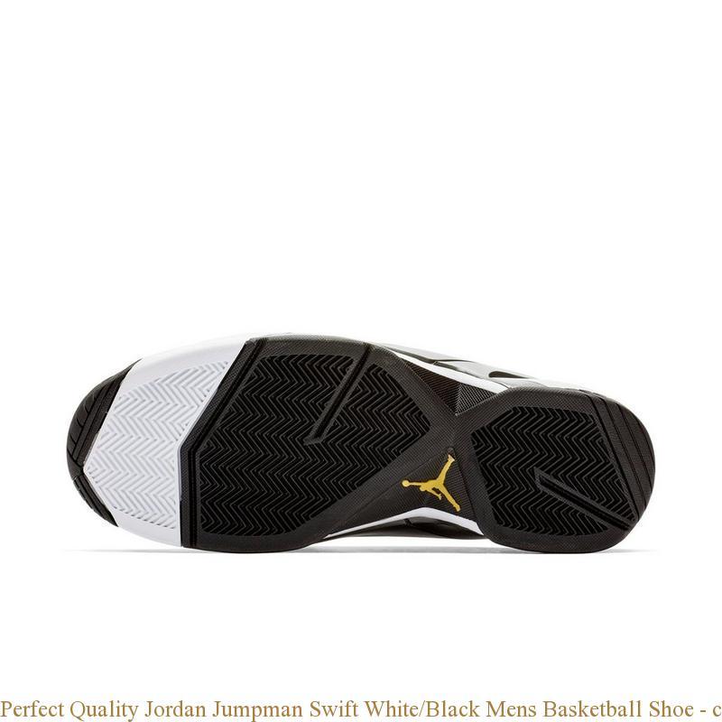 857cad8e2b82 Perfect Quality Jordan Jumpman Swift White Black Mens Basketball ...