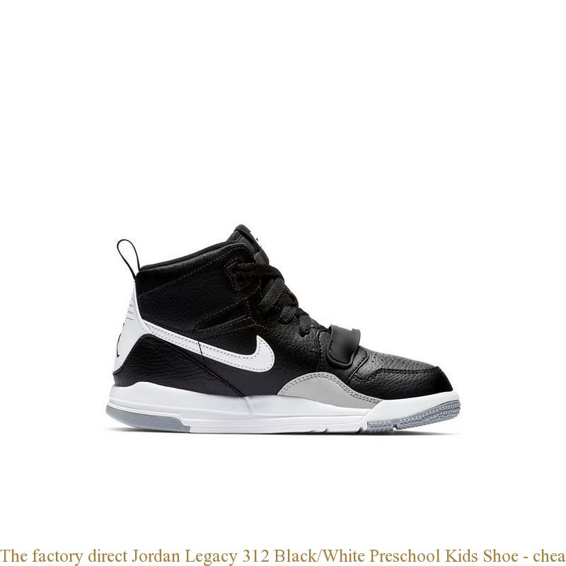 factory direct Jordan Legacy 312 Black